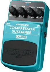 BEHRINGER CS400 COMPRESSOR/SUSTAINER Гитарный эффект