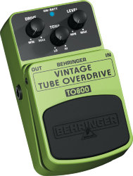 Behringer TO800 VINTAGE TUBE OVERDRIVE  Педаль эффектов